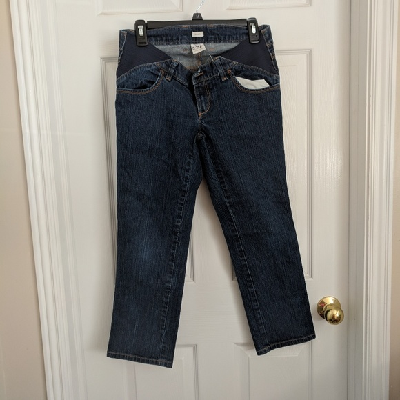 Old Navy Denim - Old Navy maternity capris